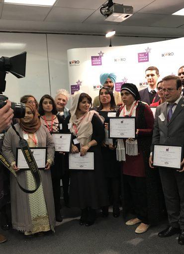 Group photo of award ceremony, Law University, London 2017